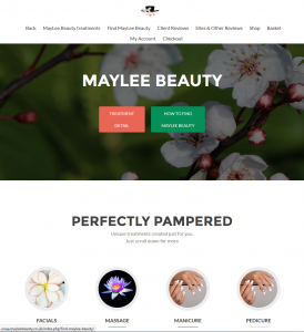 For wnderful facials and nails MayLee Beauty